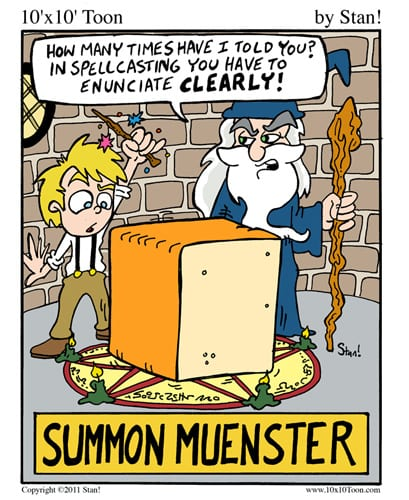 Cheesy Monsters
