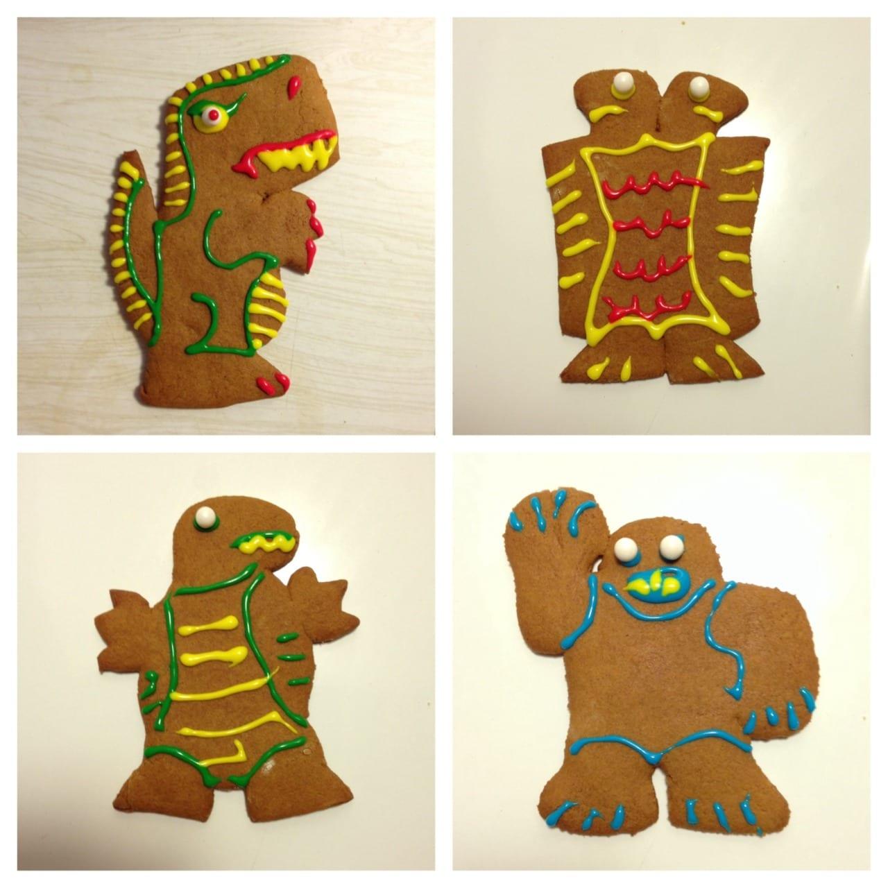 Gingerbread Kaiju 2