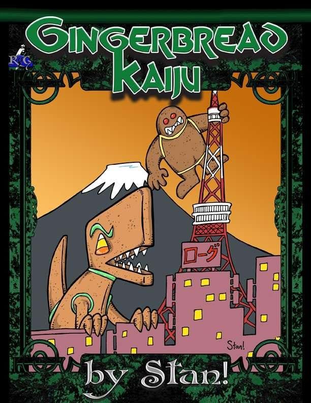 Gingerbread-Kaiju
